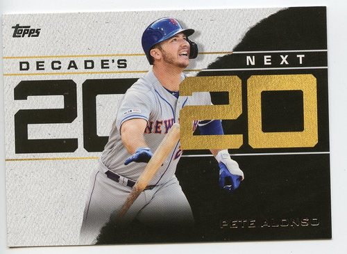 Photo of 2020 Topps Decade's Next #DN11 Pete Alonso