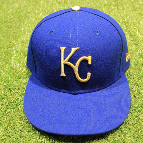 Photo of Game-Used 2020 Gold Hat: Carlos Hernandez #71 (Size 7 3/8 - DET @ KC 9/25/20)