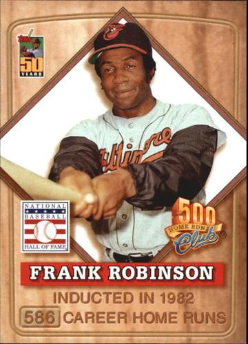 Photo of 2001 Post 500 Club #5 Frank Robinson