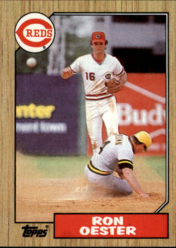 Photo of 1987 Topps #172 Ron Oester