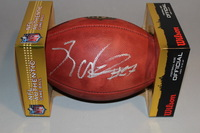 NFL - RAIDERS REGGIE NELSON SIGNED AUTHENTIC FOOTBALL