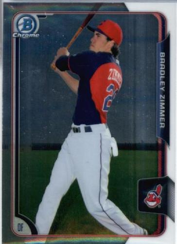 Photo of 2015 Bowman Chrome Prospects #BCP223 Bradley Zimmer