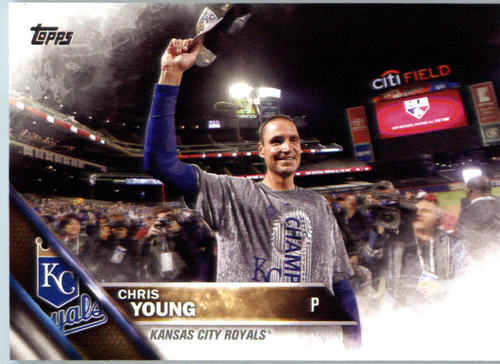 Photo of 2016 Topps #358 Chris Young