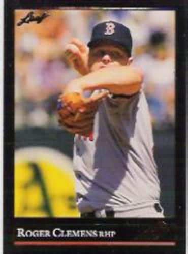 Photo of 1992 Leaf Black Gold #19 Roger Clemens