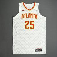 Alex Len - Atlanta Hawks - Kia NBA Tip-Off 2019 - Game-Worn Association Edition Jersey
