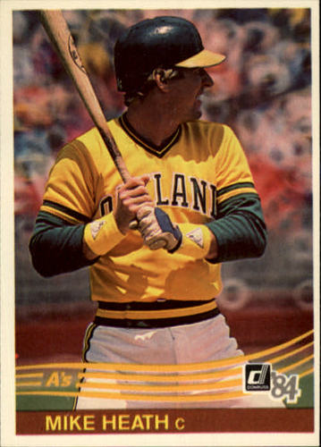 Photo of 1984 Donruss #223 Mike Heath