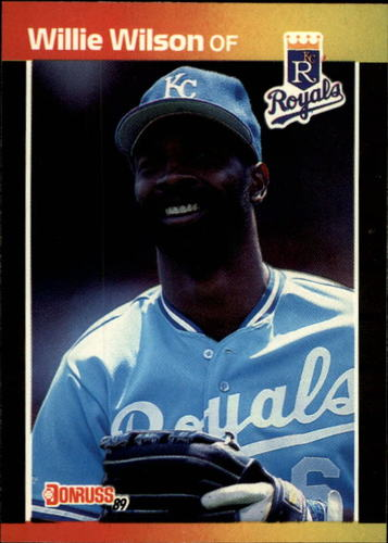 Photo of 1989 Donruss #120 Willie Wilson