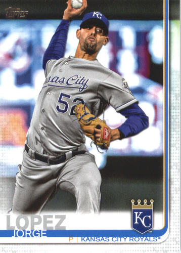 Photo of 2019 Topps #651 Jorge Lopez