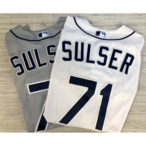 Photo of Team Issued Postseason Jersey Package (2): Cole Sulser
