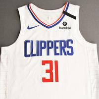 Marcus Morris Sr. - Los Angeles Clippers - Game-Worn Association Edition Jersey - 1 of 2 - 2019-20 NBA Season Restart with Social Justice Message