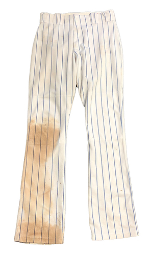 Photo of 12 Days of Auctions: Day 10 -- Albert Almora Team-Issued Pants -- Size 34-37-34