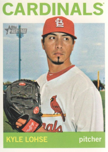 Photo of 2013 Topps Heritage #147 Kyle Lohse
