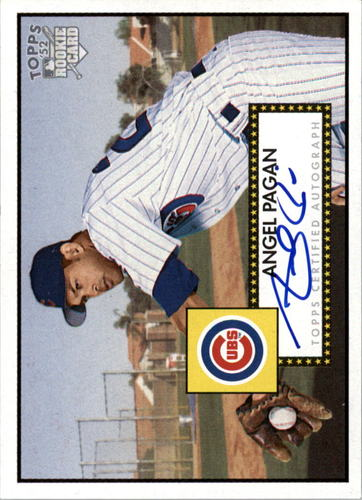 Photo of 2006 Topps 52 Signatures #AP Angel Pagan F
