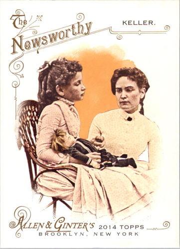 Photo of 2014 Topps Allen and Ginter #243 Hellen Keller