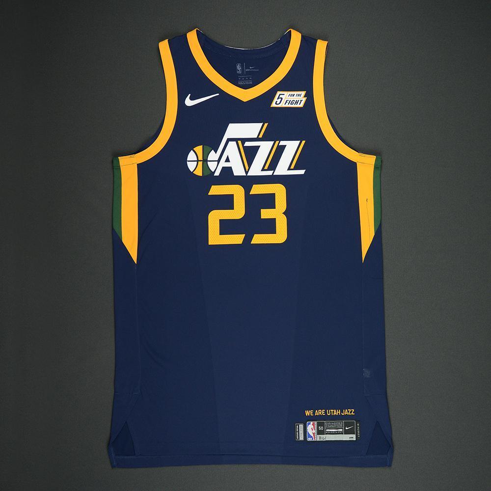 Royce O'Neale - Utah Jazz - 2018 NBA Playoffs Game-Worn Jersey