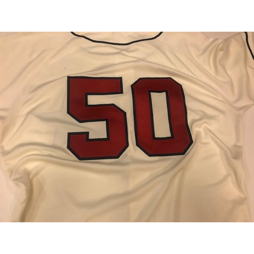 Photo of Game-Used Detroit Stars Jersey: Mike Fiers