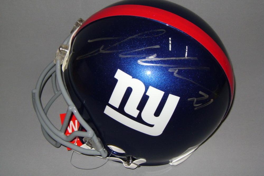 NFL - Giants Landon Collins signed Giants proline helmet