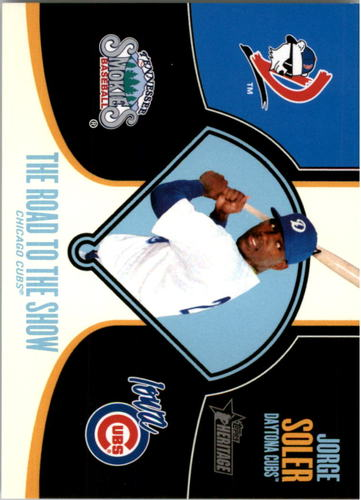 Photo of 2013 Topps Heritage Minors Road to the Show #JS Jorge Soler