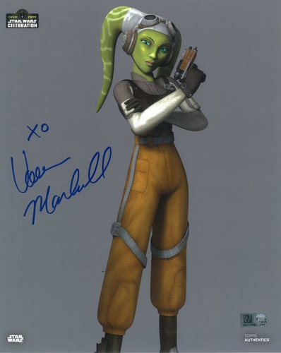 Vanessa Marshall As Hera Syndulla 8X10 Autographed in Blue Ink Photo