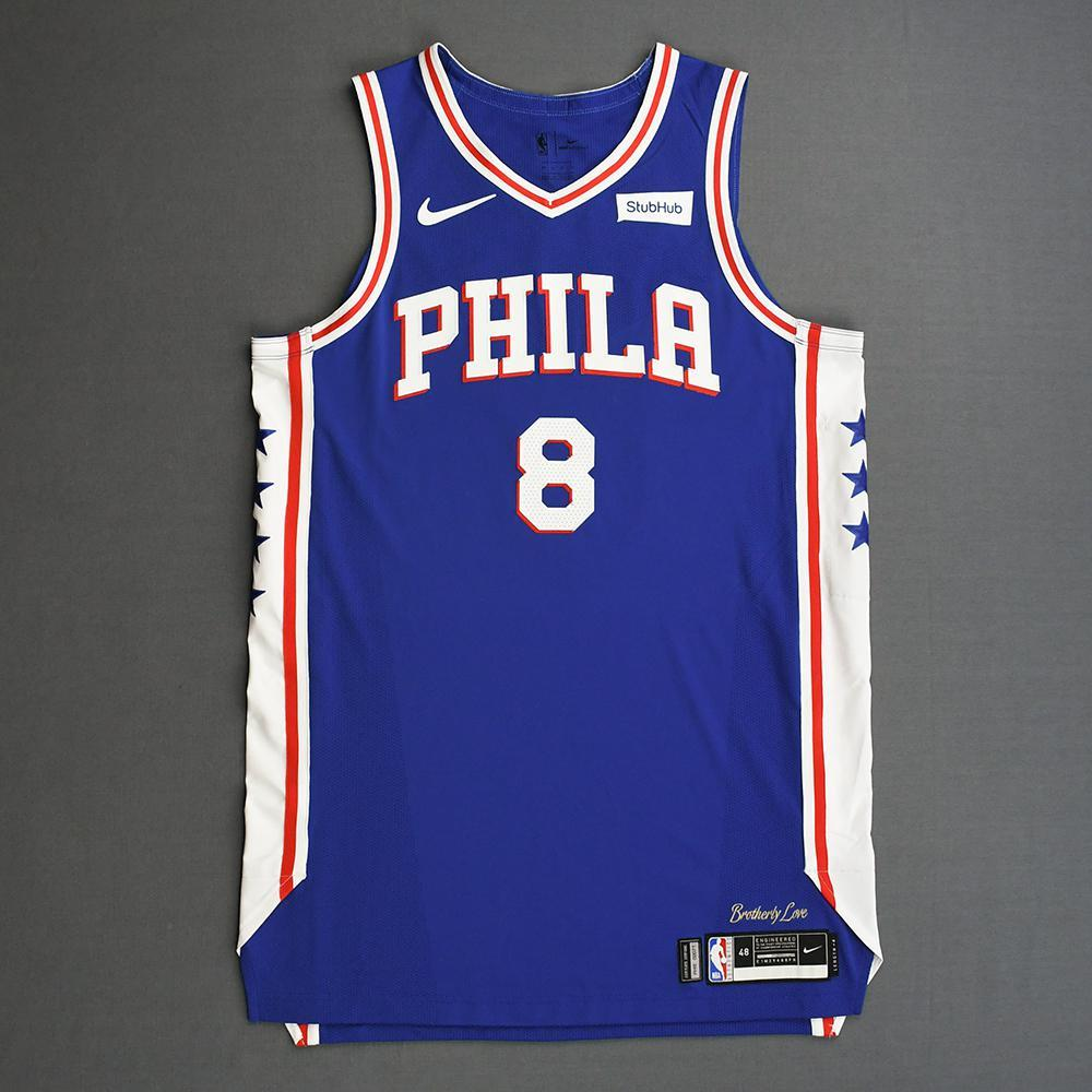 lowest price ede9c 65f09 Zhaire Smith - Philadelphia 76ers - 2019 NBA Playoffs - Game ...