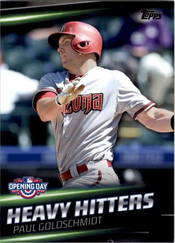 Photo of 2016 Topps Opening Day Heavy Hitters #HH12 Paul Goldschmidt