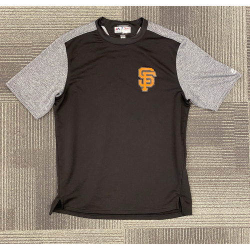 Photo of Team Issued San Francisco Giants Fleece Pullover - Size L