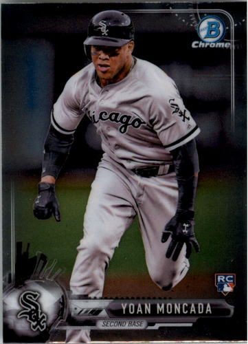 Photo of 2017 Bowman Chrome Mini #25 Yoan Moncada