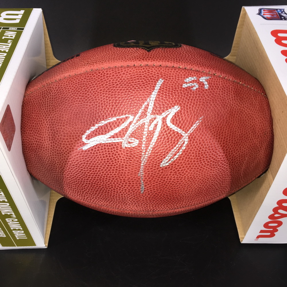 NFL - Vikings Anthony Barr Signed Authentic Football