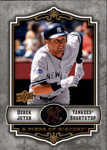 Photo of 2009 UD A Piece of History #63 Derek Jeter