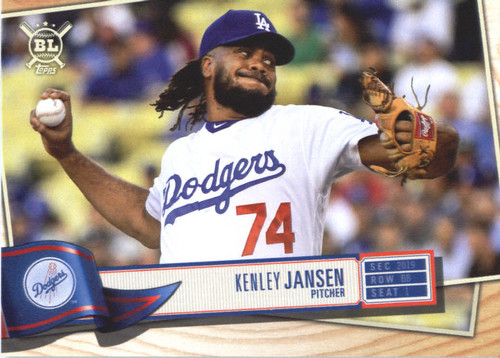 Photo of 2019 Topps Big League #26 Kenley Jansen
