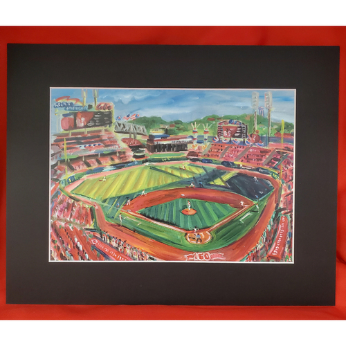 Photo of Great American Ball Park by Andy Brown 11x14