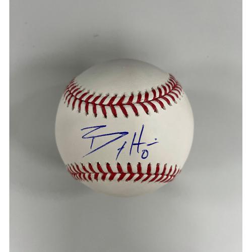 Photo of Billy Hamilton Autographed Baseball