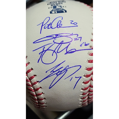 Photo of MLB Players Youth Development Foundation: Autographed Baseball Signed by All Participants from the 2021 T-Mobile Home Run Derby