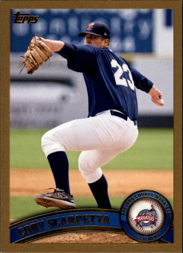 Photo of 2011 Topps Pro Debut Gold #79 Cody Scarpetta