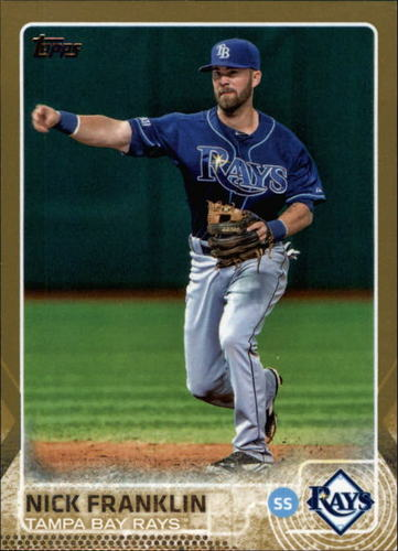 Photo of 2015 Topps Gold #446 Nick Franklin