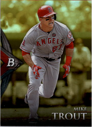 Photo of 2014 Bowman Platinum Gold #2 Mike Trout
