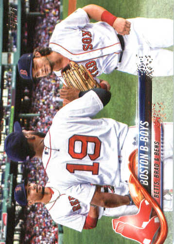 Photo of 2018 Topps #211 Boston B-Boys/Mookie Betts/Jackie Bradley Jr./Andrew Benintendi
