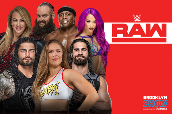 Clickable image to visit Four Tickets to WWE Monday Night RAW plus Concessions