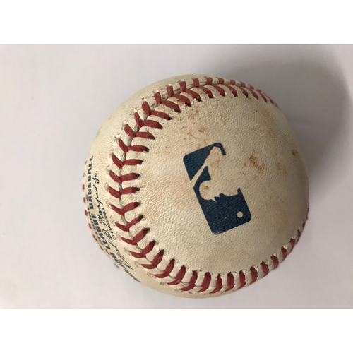 Clayton Kershaw Pitched Baseball - 7/27/2018