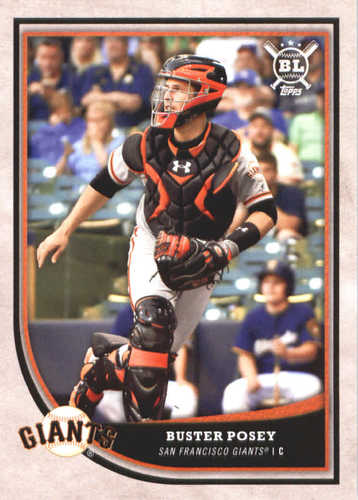 Photo of 2018 Topps Big League #203 Buster Posey