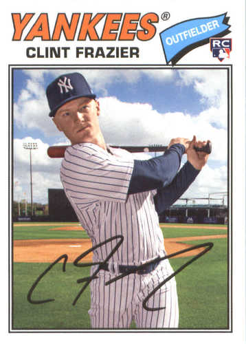 Photo of 2018 Topps Archives #144 Clint Frazier RC