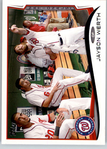 Photo of 2014 Topps #228A Jayson Werth