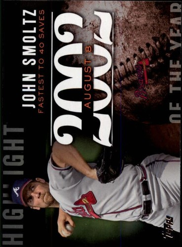 Photo of 2015 Topps Highlight of the Year #H85 John Smoltz UPD