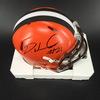NFL - Browns Denzel Ward Signed Mini Helmet