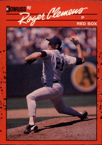 Photo of 1990 Donruss #184 Roger Clemens