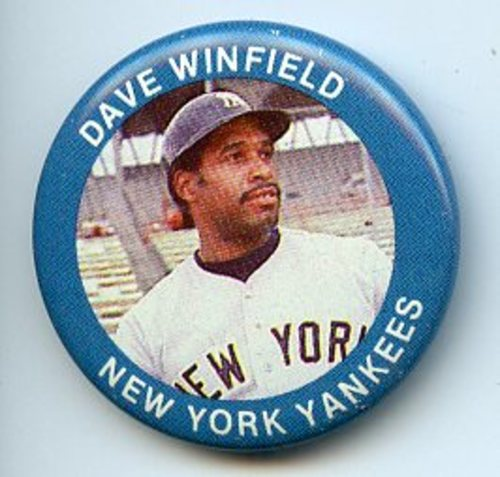 Photo of 1984 Fun Foods Pins #1 Dave Winfield