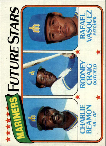 Photo of 1980 Topps #672 Charlie Beamon RC/Rodney Craig RC/Rafael Vasquez RC