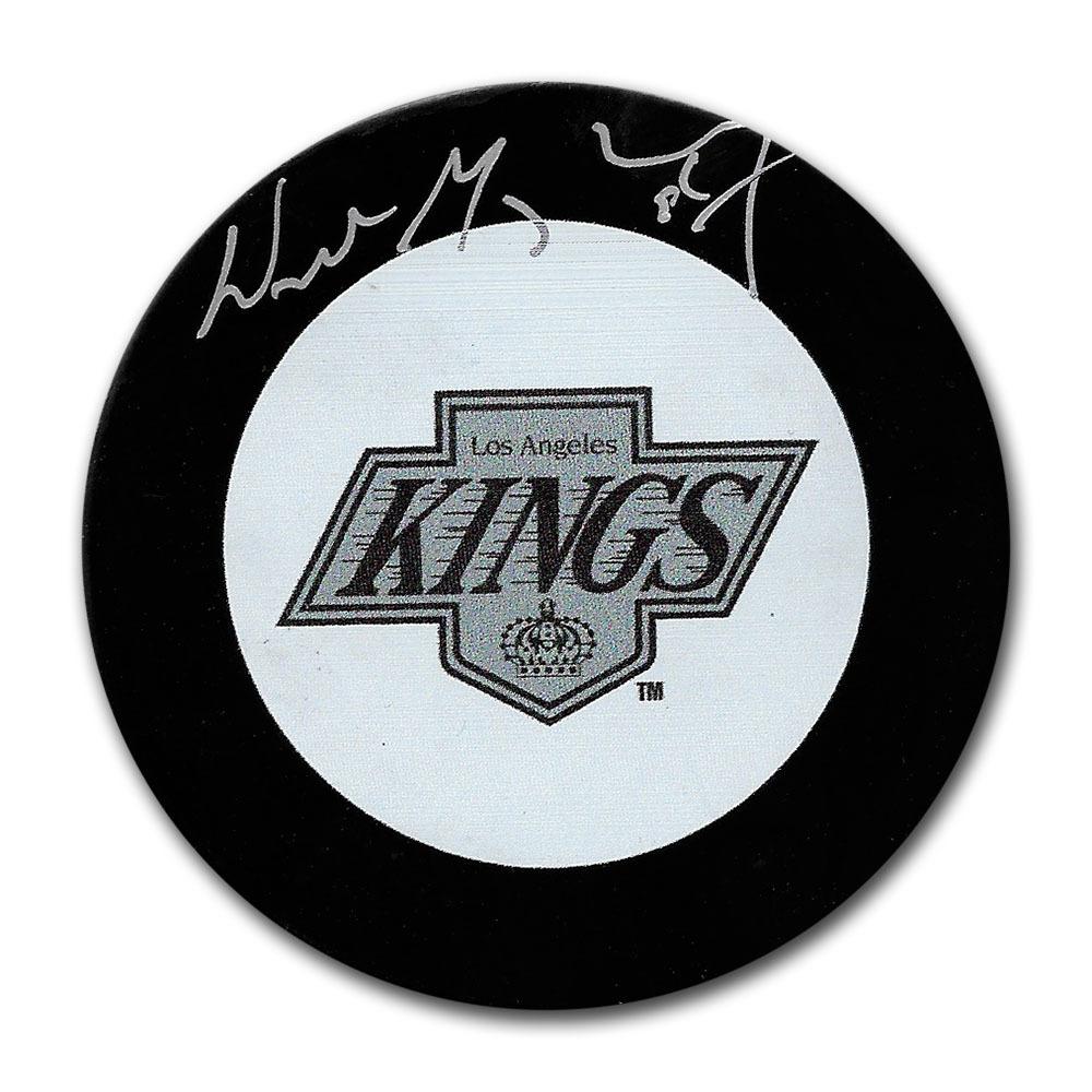 Wayne Gretzky Autographed Los  Angeles Puck