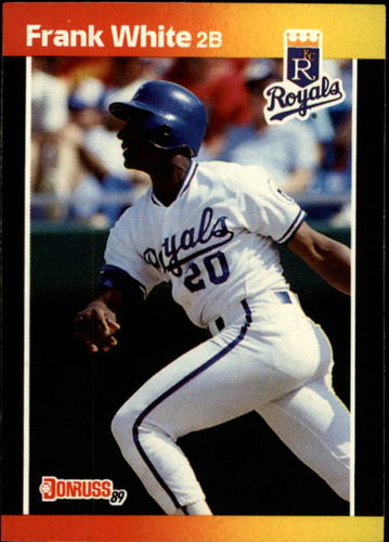 Photo of 1989 Donruss #85 Frank White