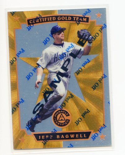 Photo of 1997 Pinnacle Certified Certified Gold Team #2 Jeff Bagwell SAMPLE